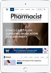 Australian Pharmacist thumbnail