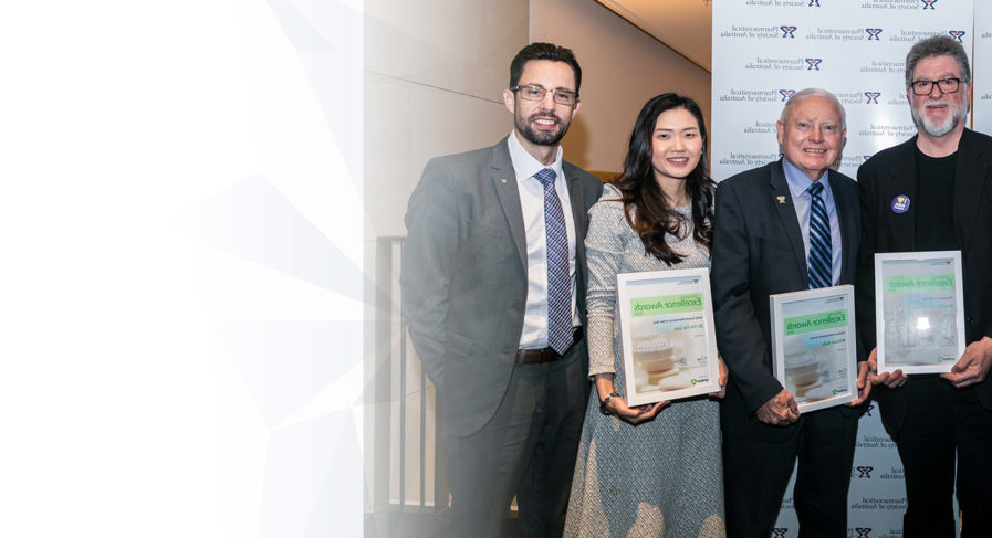 PSA Symbion Excellence Awards winners at PSA19