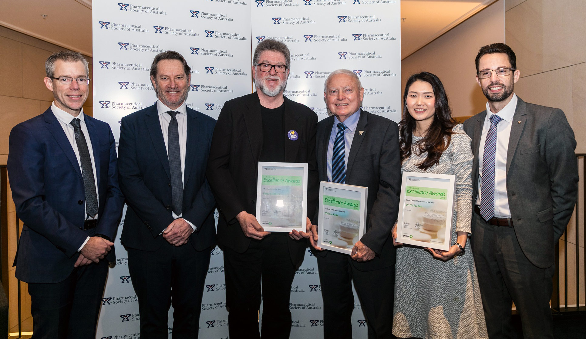 PSA Symbion Excellence Award winners at PSA19