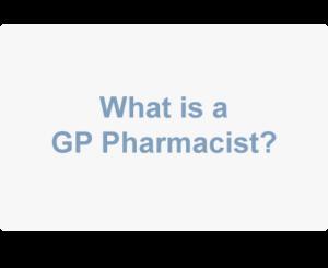 GP Pharmacist